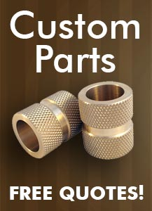 Free Quotes on Custom Bronze Bushings
