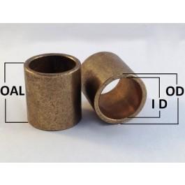 "AI060810 Oil Filled Sintered Bronze Bush Inch 3//8x1//2x5//8/"""